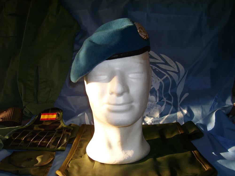 Prendas de cabeza de Naciones Unidas. 1990_JMGG_ONUCA_001_1995_Bosnia_RGG
