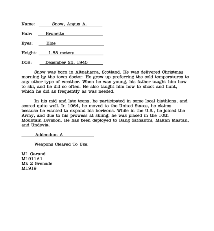Top Secret - Operation Dropkick - Did/Does your Action Man have a name? - Page 7 Angus_Snow_Dossier