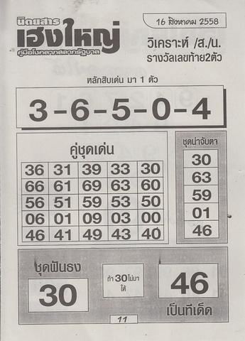 16 / 08 / 2558 MAGAZINE PAPER  Heangyai_new_book_11