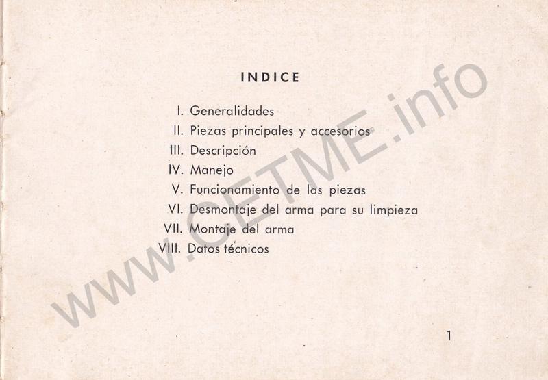 1956 - DESCRIPCION ABREVIADA DEL FUSIL DE ASALTO CETME - CETME A-2a  1956_CETME_A-2a_FORO_003