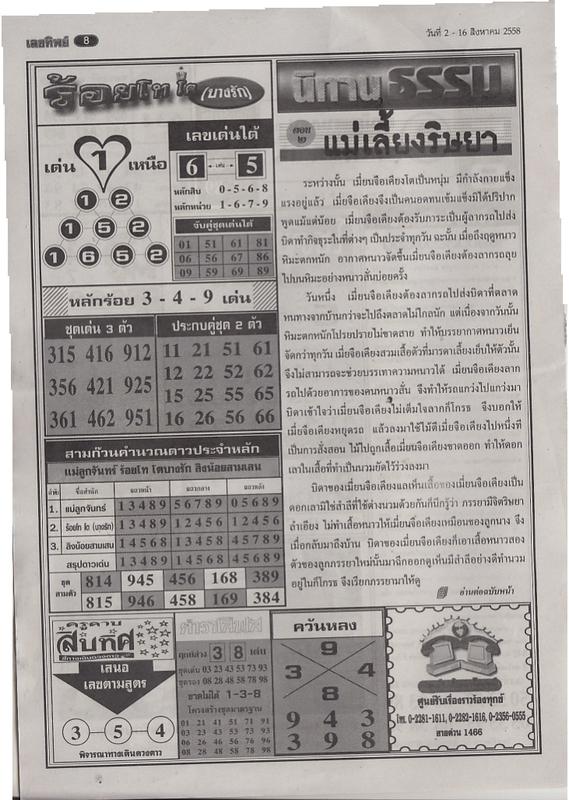 16 / 08 / 2558 FIRST PAPER Lektip_8