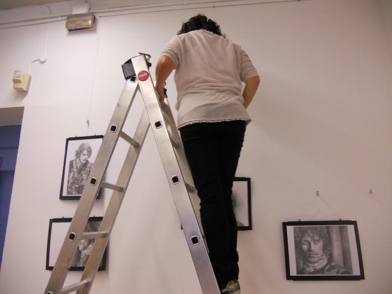 La preparación en el centro cultural. 009