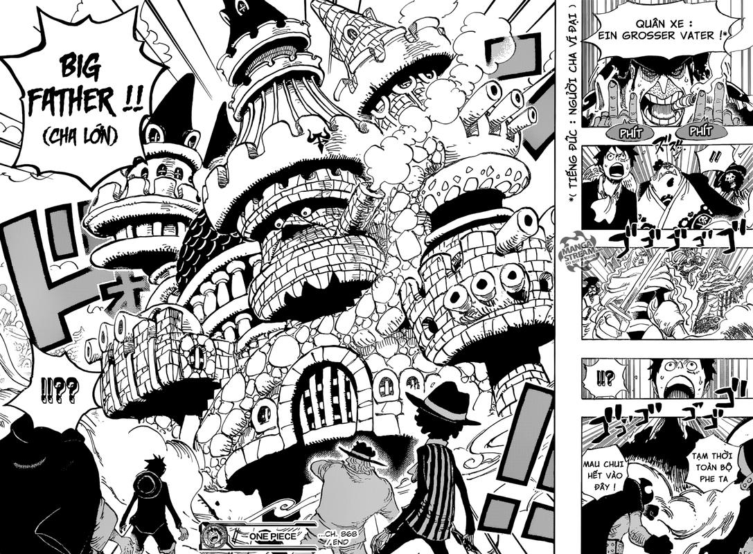 One Piece Chapter 868: Đầu đạn KX 16-171