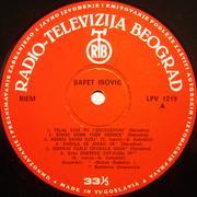 Safet Isovic - Kolekcija Ploca-strana_A