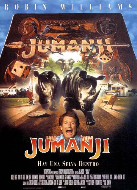 Jumanji (1995) [Ver Online] [Descargar] [HD 1080p] [Spanish-English] [Fantástico] Jumanji-685043467-large