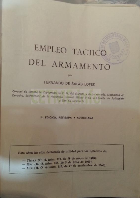 Empleo Táctico del Armamento. 3ª ed. 1973. Fernando de Salas López. Empleo_Tactico_del_Armamento_CETME_L_1_002