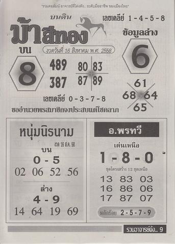 16 / 08 / 2558 MAGAZINE PAPER  - Page 3 Ruamajandang_9