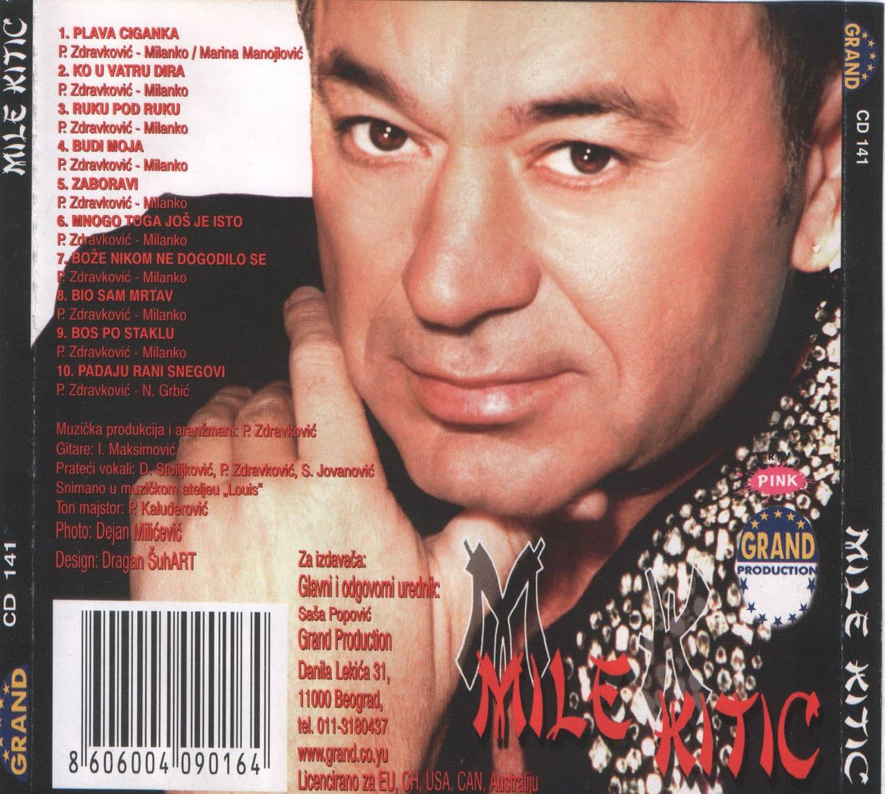 Mile Kitic 2001 - Plava ciganka Mile_Kitic_2001_Zadnja