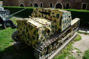 Итальянская танкетка Carro veloce L3/35 в Военном музее в замке Калемегдан г.Белград SG201732
