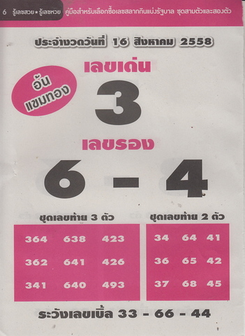16 / 08 / 2558 MAGAZINE PAPER  - Page 4 Rueleksuay_6