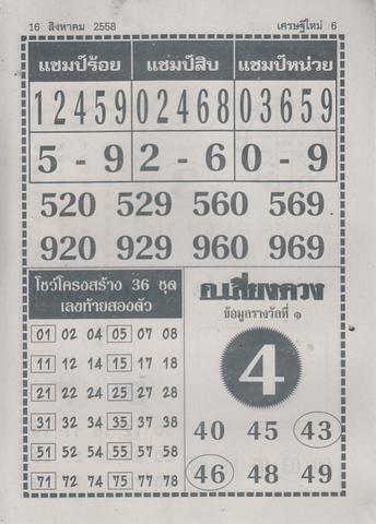 16 / 08 / 2558 MAGAZINE PAPER  - Page 4 Sedteemai_6