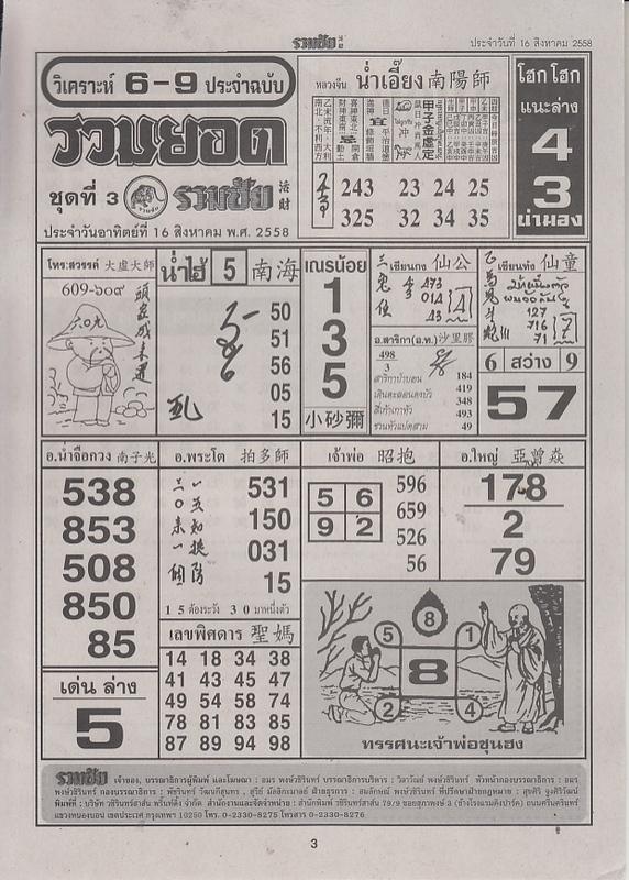 16 / 08 / 2558 FIRST PAPER Ruamchai_3