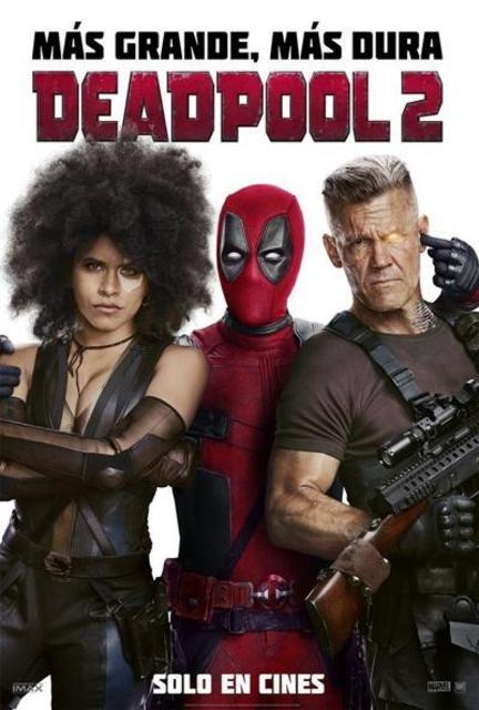 Deadpool 2 (2018) [Ver Online] [Descargar] [HD 1080p] [Español-Inglés] [Acción] Deadpool_2-668135543-large