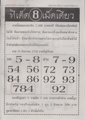 16 / 08 / 2558 MAGAZINE PAPER  Daotieam_3