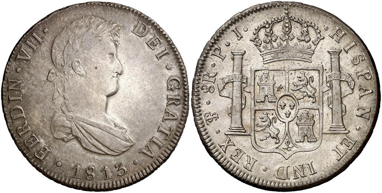 8 Reales Fernando VII. Potosí 1813·PJ 4787274
