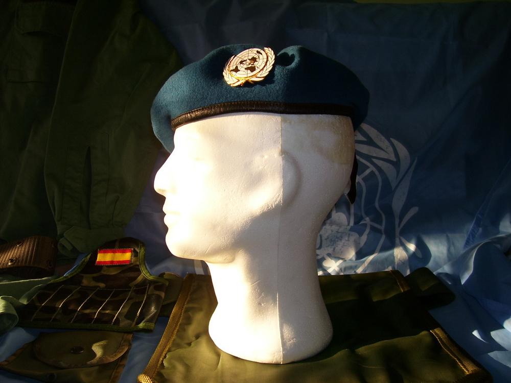 Prendas de cabeza de Naciones Unidas. 1990_JMGG_ONUCA_002_1995_Bosnia_RGG