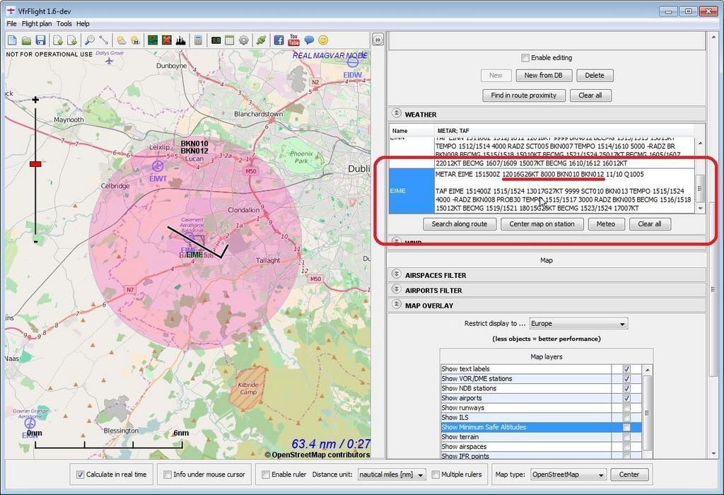 Ferramenta planejamento de voo. Image