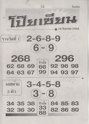 16 / 08 / 2558 MAGAZINE PAPER  - Page 3 Poiziane_14