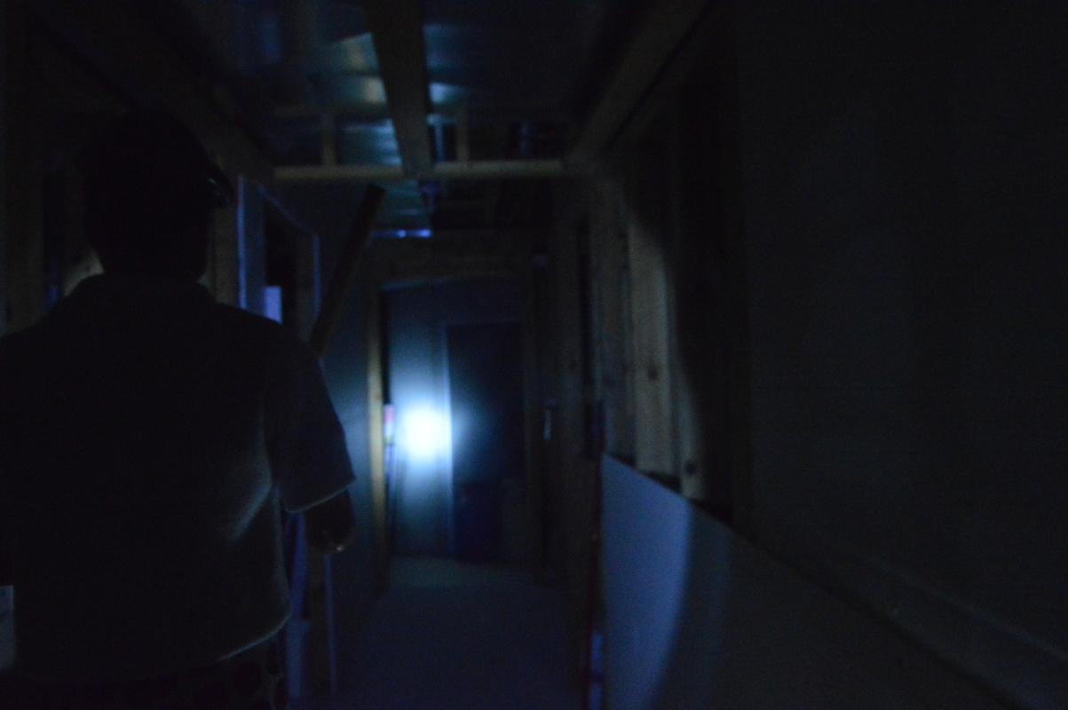 Sean Checks a Spooky Noise... DSC_0905