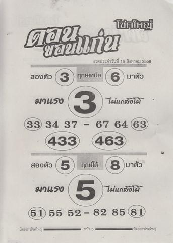 16 / 08 / 2558 MAGAZINE PAPER  Chokeyai_5