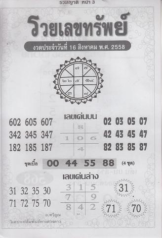 16 / 08 / 2558 MAGAZINE PAPER  - Page 3 Ruamyat_3