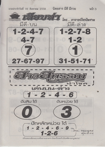 16 / 08 / 2558 MAGAZINE PAPER  - Page 3 Meedeemeeruay_3