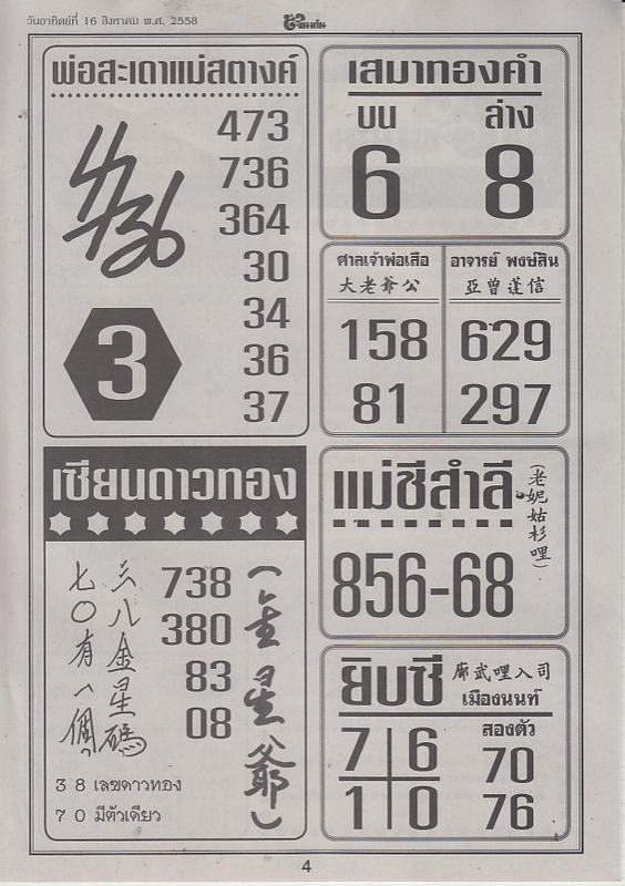 16 / 08 / 2558 FIRST PAPER Tingkanomjean_4