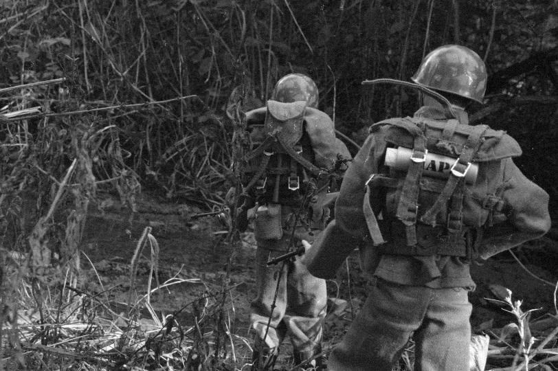 U.S. Army in Bang Sathanthi Vintage2