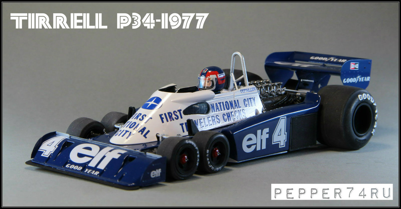 Tyrrell P34 1977 Monaco GP Tirrel_0002
