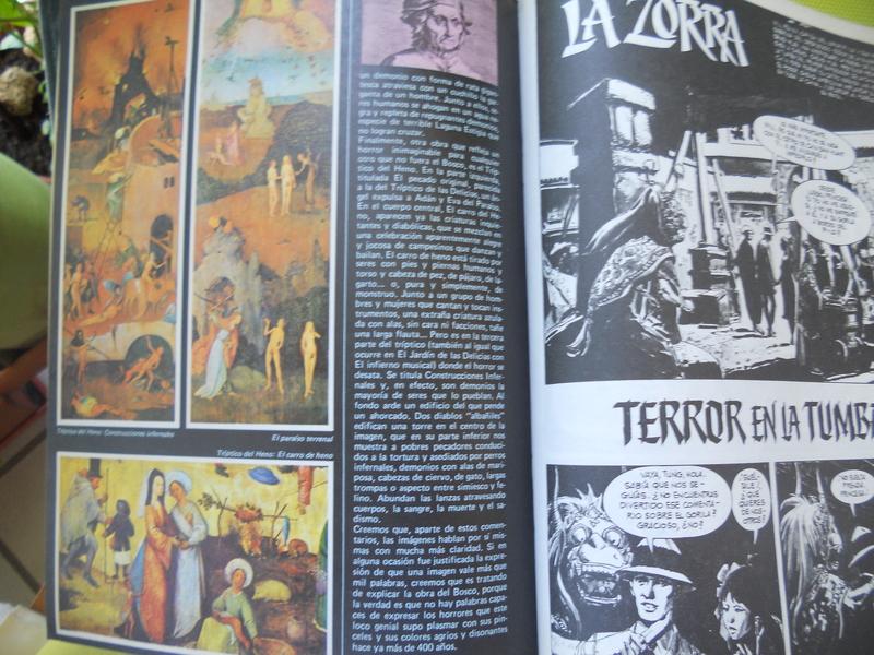 los amantes del comics de terror.................... 066