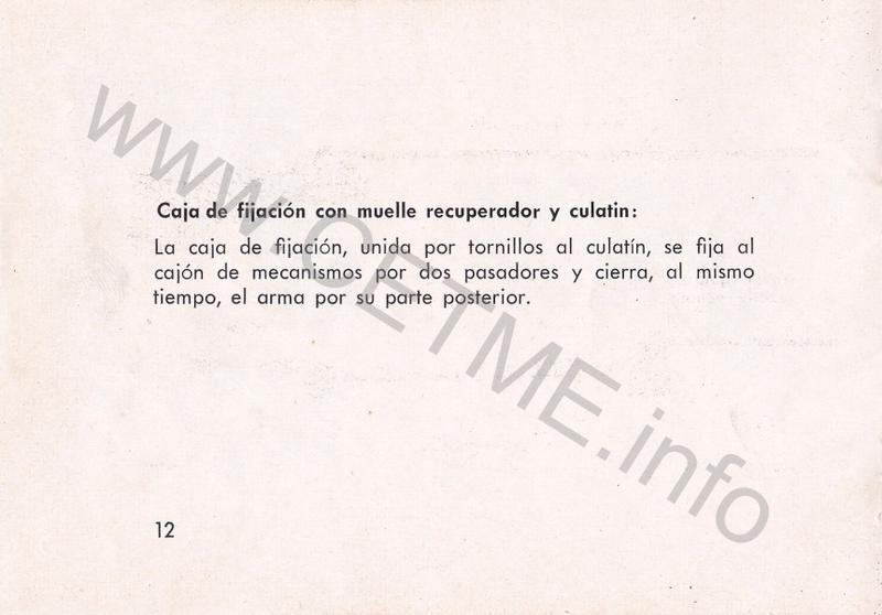 1956 - DESCRIPCION ABREVIADA DEL FUSIL DE ASALTO CETME - CETME A-2a  1956_CETME_A-2a_FORO_014