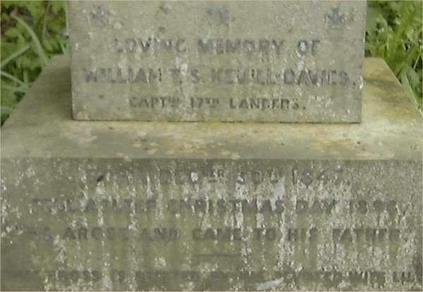 The Keynsham Light Horse Part 2 Wtsk_d_headstone