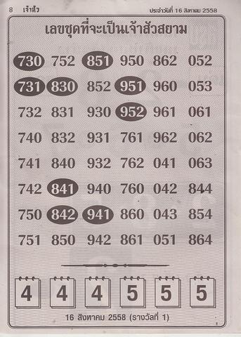 16 / 08 / 2558 MAGAZINE PAPER  Jaosure_8