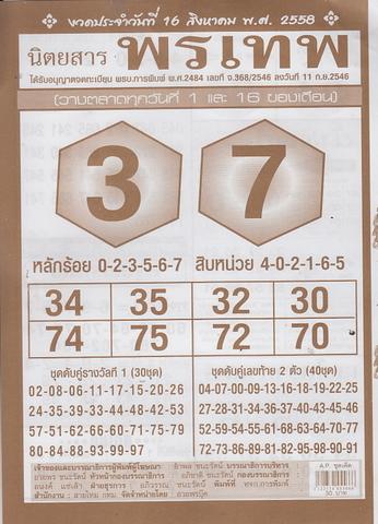 16 / 08 / 2558 MAGAZINE PAPER  - Page 3 Pornthep_8