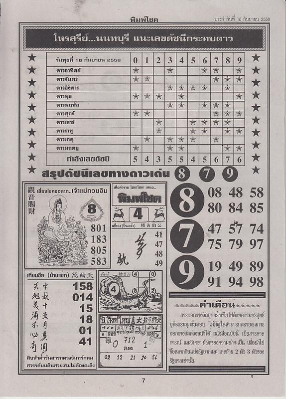 16 / 09 / 2558 FIRST PAPER . Pimchoke_7