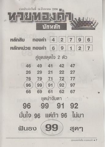 16 / 08 / 2558 MAGAZINE PAPER  Huaythongkam_7