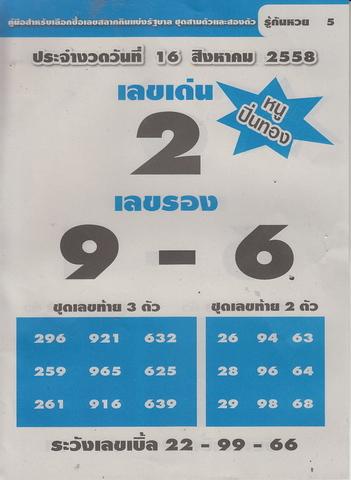 16 / 08 / 2558 MAGAZINE PAPER  - Page 3 Ruekanhuay_5