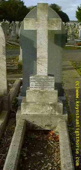 The Keynsham Light Horse Part 2 Tredennick_57th_grv