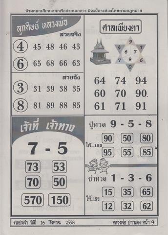16 / 08 / 2558 MAGAZINE PAPER  - Page 2 Luangporpakdang_9