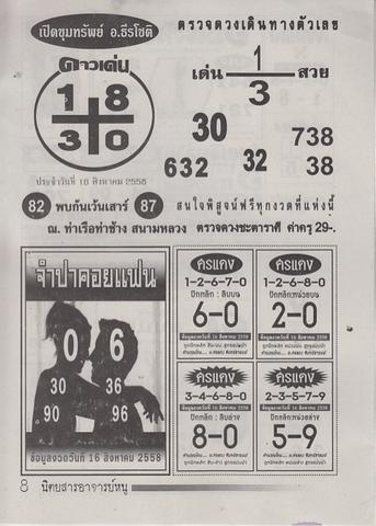 16 / 08 / 2558 MAGAZINE PAPER  Ajannu_8