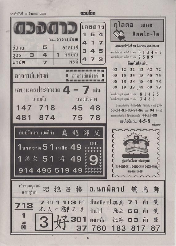 16 / 08 / 2558 FIRST PAPER Ruamchoke_6