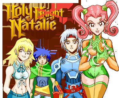 [Ace] Holy Knight Natalie (Presentación) Natarie