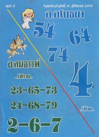 16 / 08 / 2558 MAGAZINE PAPER  - Page 2 Lektawada_5