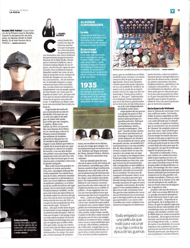 """Joseba """"en su papel"""" - www.cascoscoleccion.com Joseba_La_Rioja_20140907_002"""