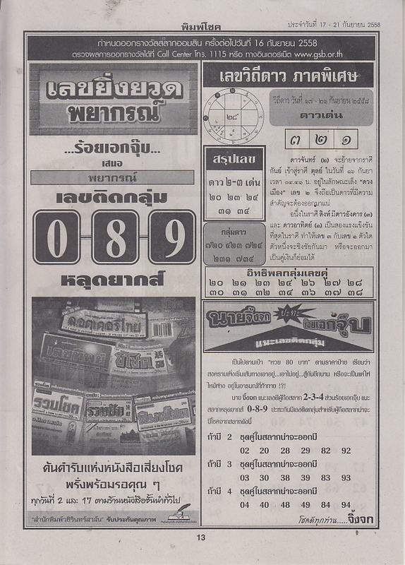 16 / 09 / 2558 FIRST PAPER . Pimchoke_13