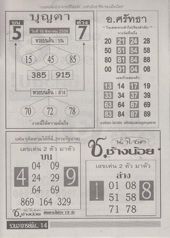 16 / 08 / 2558 MAGAZINE PAPER  - Page 3 Ruamajandang_14