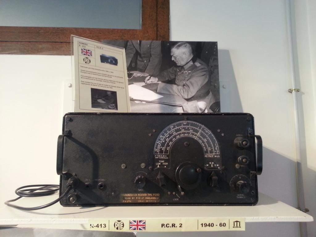 """Quedada casquera... Belorado, 04-X-14. Museo de Radiotransmisiones """"Inocencio Bocanegra"""" 20141004_124618"""