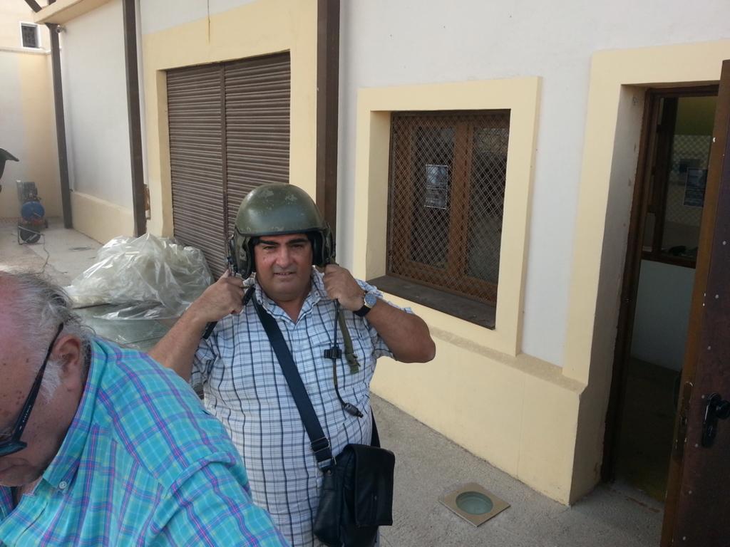 """Quedada casquera... Belorado, 04-X-14. Museo de Radiotransmisiones """"Inocencio Bocanegra"""" 20141004_120116"""