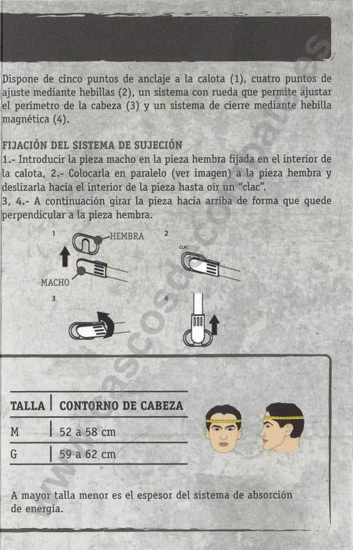 casco - 2017 - MANUAL DE USO del casco COBAT-01 COBAT-01_2017_Folleto_Marca_De_Aguajpg_Page5