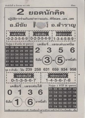 16 / 08 / 2558 MAGAZINE PAPER  Funthong_8